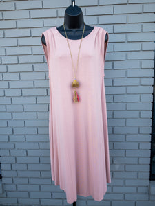 Pink Eco-Friendly Tank Dress