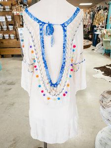 Pom Pom Beach Dress