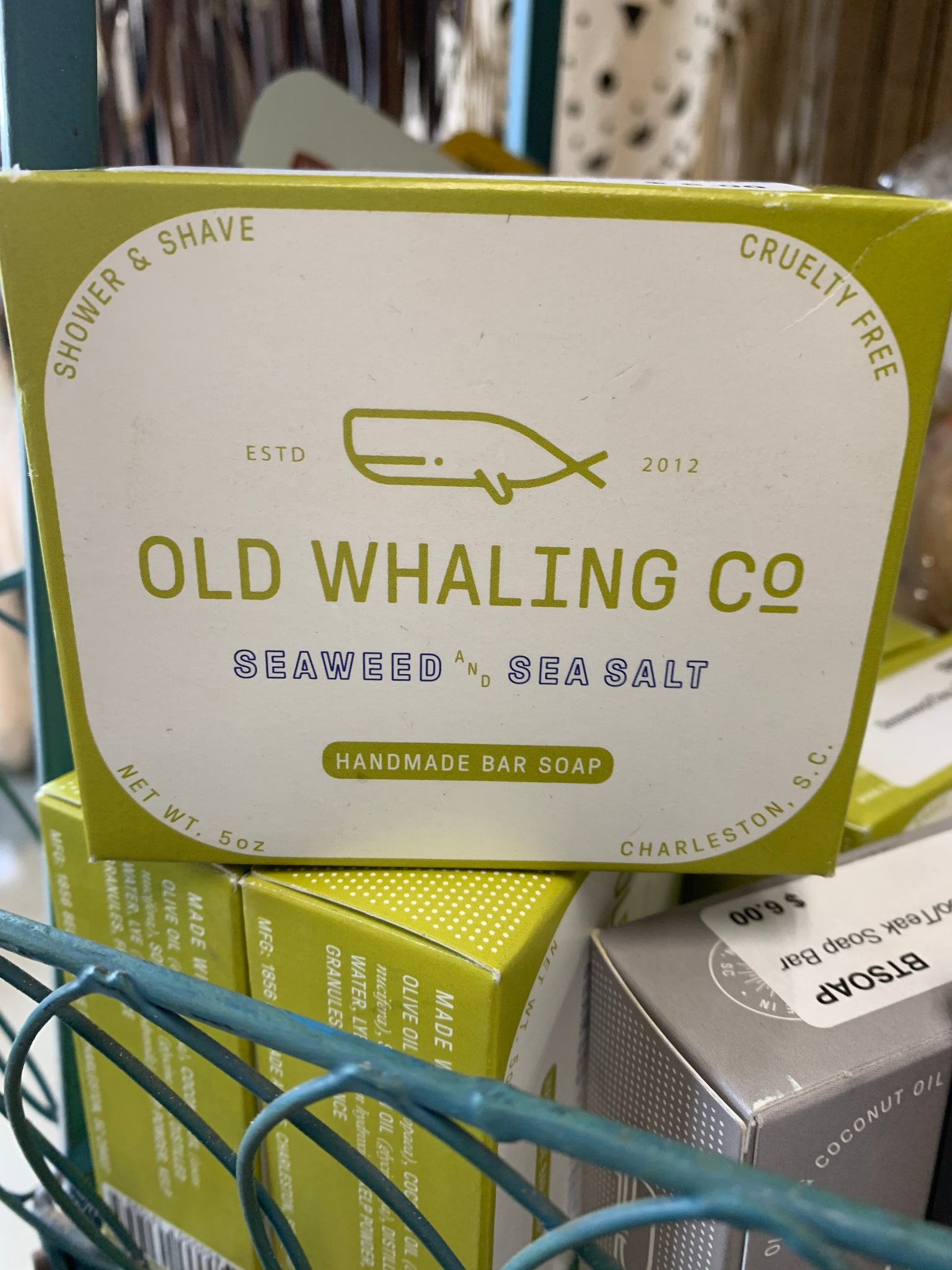 Old Whaling Company Seaweed/Sea Salt Soap