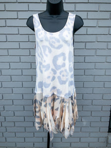 Leopard Layer Print Tank Top