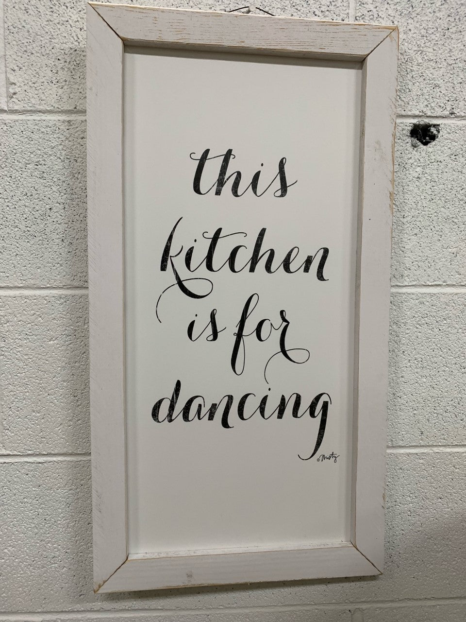 This Kitchen Sign