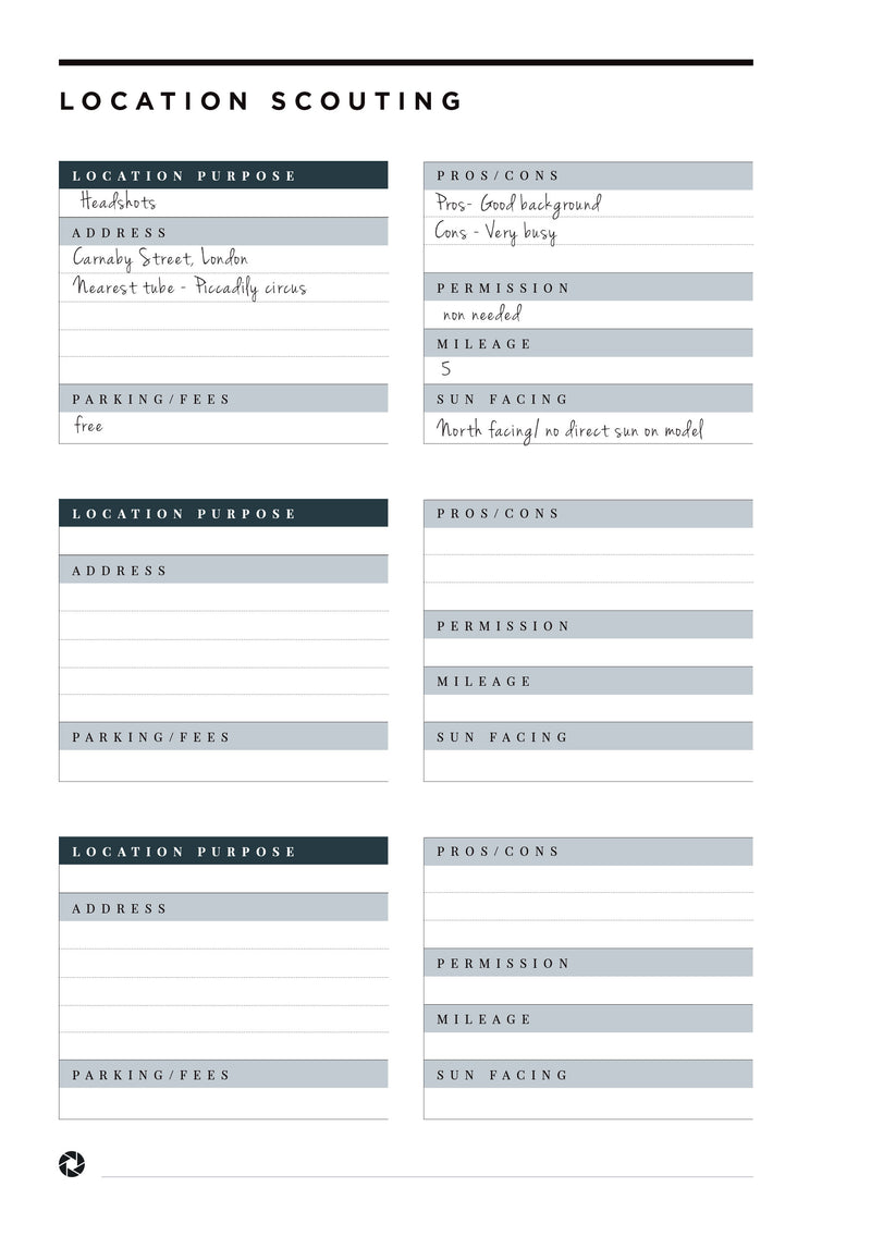 The Tog Planner 2020 (INSIDE ONLY)
