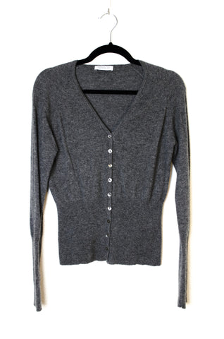 Fitted Cashmere Cardigan - Size S