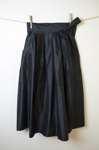 Thai Silk Wrap Skirt - Size 6