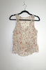 Floral Sleeveless Blouse - Size M