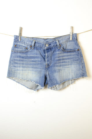 Levi Strauss & Co Cut Off Shorts - Size 7