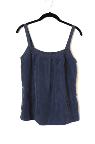 Washed Silk Wide Strap Tank - Size S
