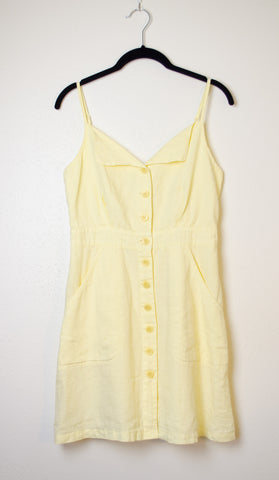 Juicy Couture Button Front Apron Dress - Size 4