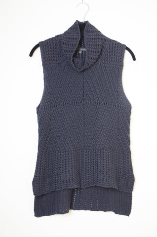 Knit Sleeveless Sweater - Size S/M