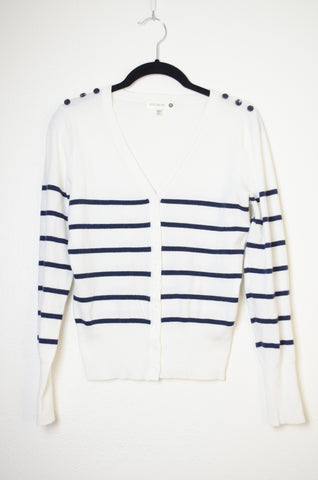 Cotton On Striped Cardigan - Size S