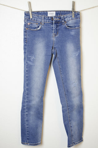 Hudson Distressed Skinny Jeans - Size 8 Youth