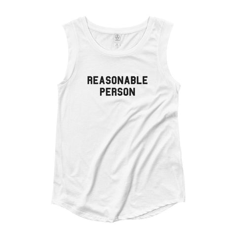 Reasonable Person™ Women's Cap Sleeve T-Shirt