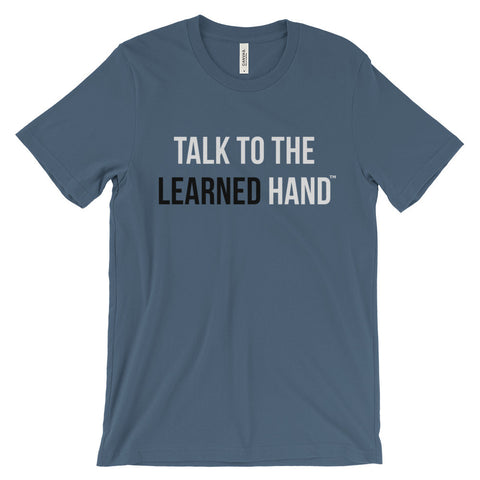 """Learned Hand"" Men's Tee"