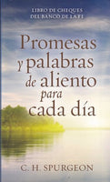 Promesas y palabras de aliento para cada día / Checkbook of Faith