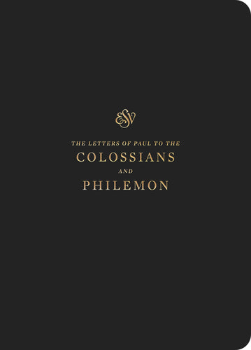 ESV Scripture Journal: Colossians/Philemon