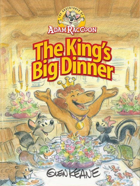 The Adventures of Adam Raccoon: The King's Big Dinner