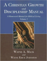 A Christian Growth and Discipleship Manual biblical counseling books biblicalcounselingbooks.com