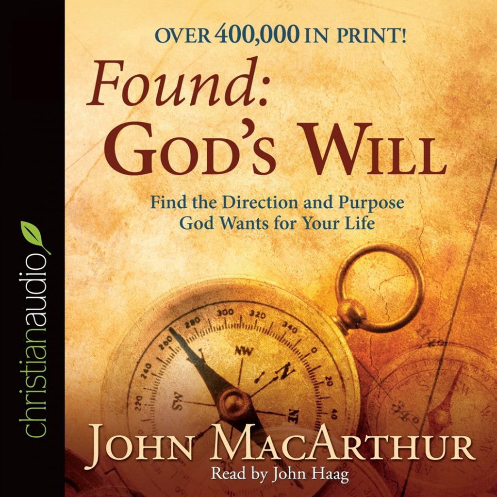 Found God's Will: Find the Direction and Purpose God Wants for Your LIfe - Audio Book CD