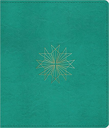 Journaling Bible: Trutone, Teal, Resplendent Cross