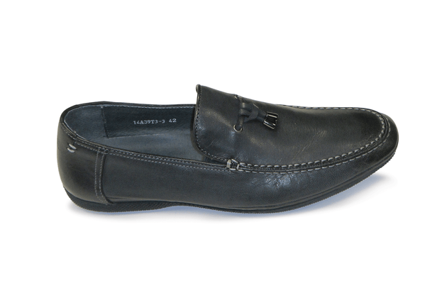Mario Samello  gray tassel loafer 14A38T303