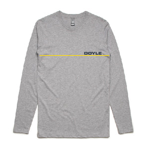 Mens Stripe L/S Tee