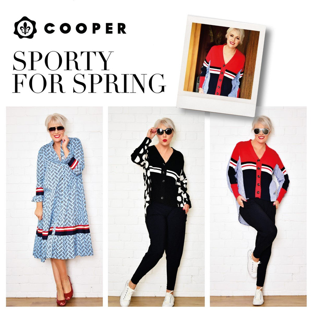 NEW Spring Arrivals from COOPER