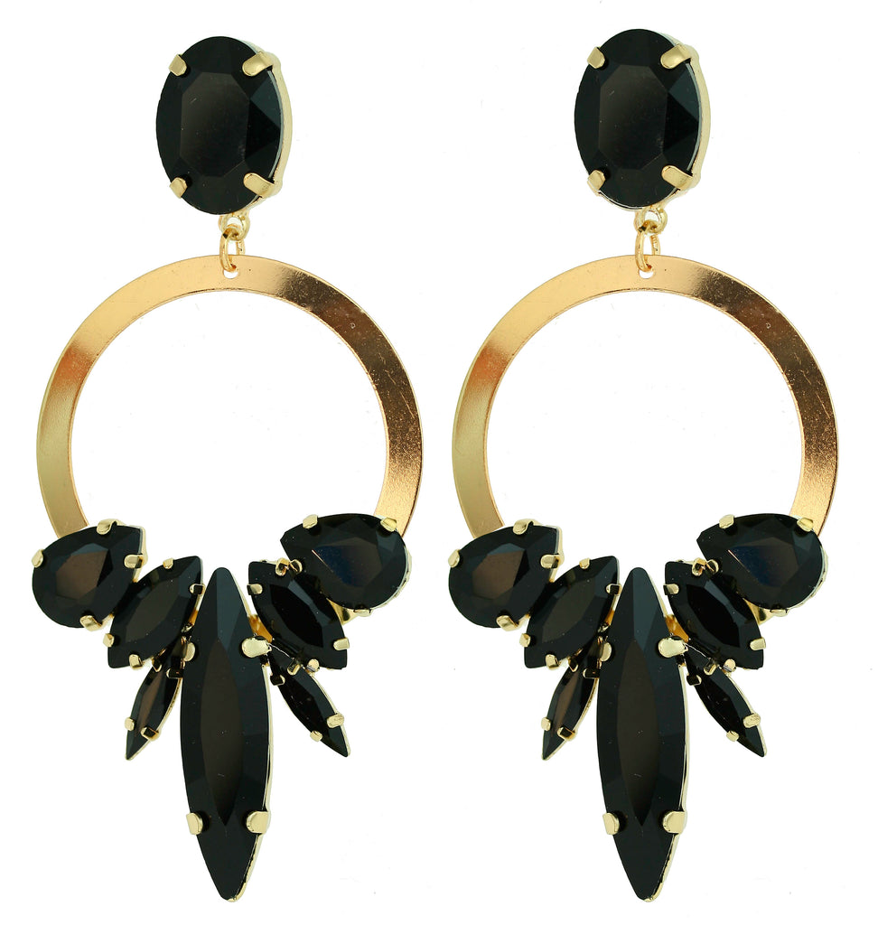 Four Corners Statement Earrings, $99