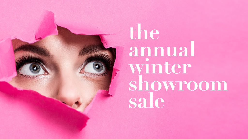 Annual Winter Showroom Sale
