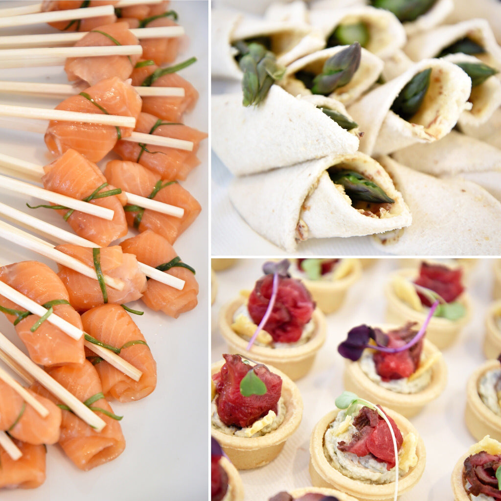White Tie Catering canapes