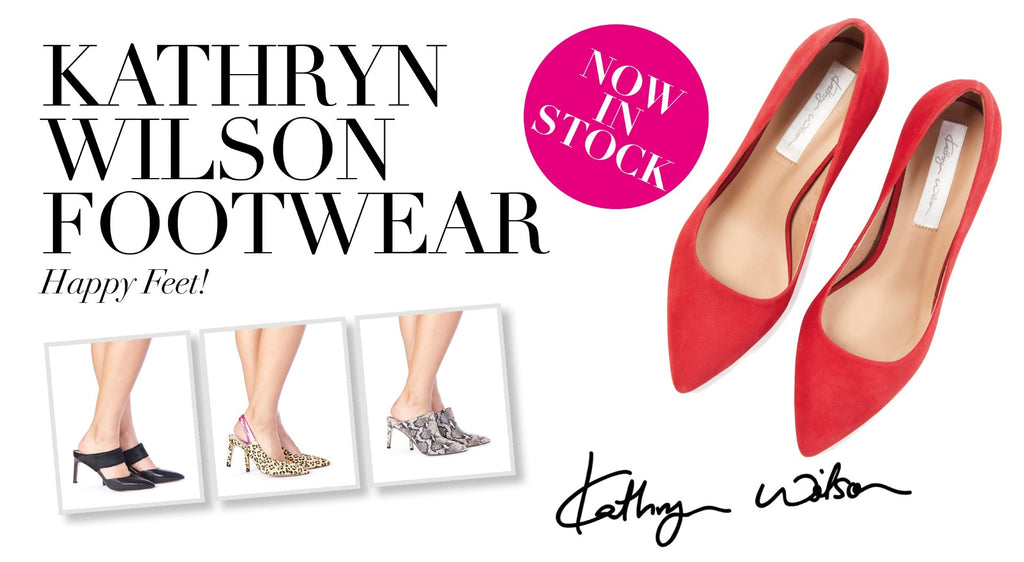 Kathryn Wilson Footwear Now available at Magpie Style