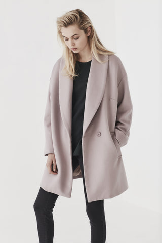 Shjark lilac Willow coat