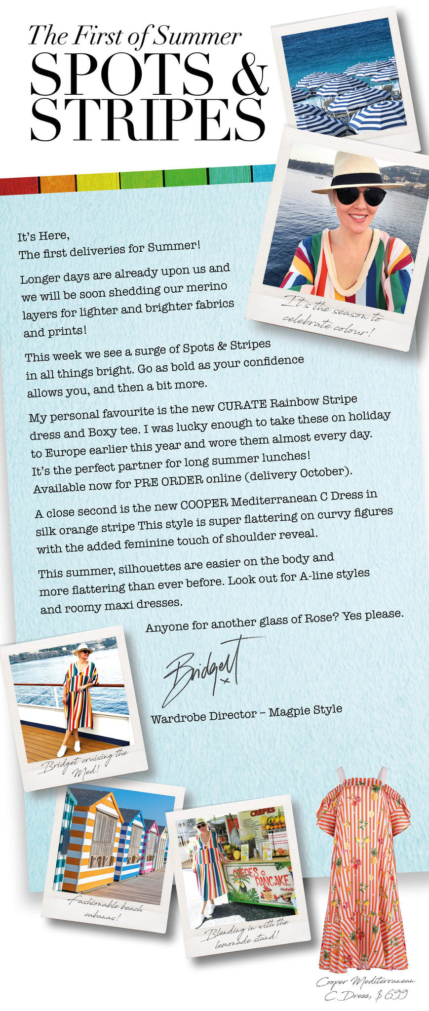 Bridget Hope blog from Magpie Style