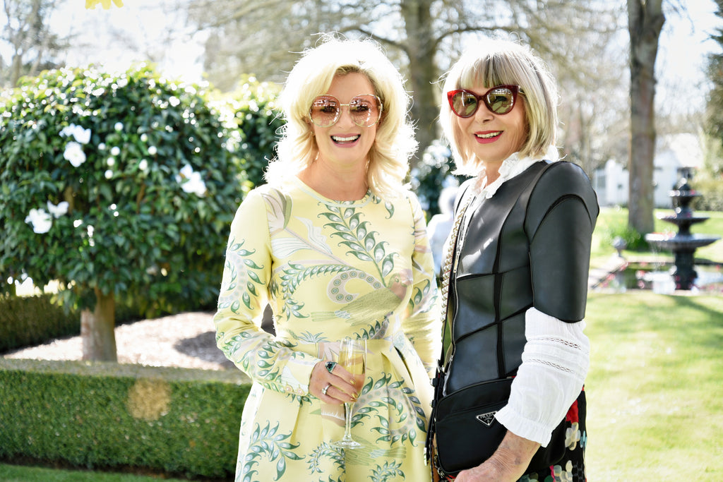 Dame Trelise Cooper and Lynn Ritchie