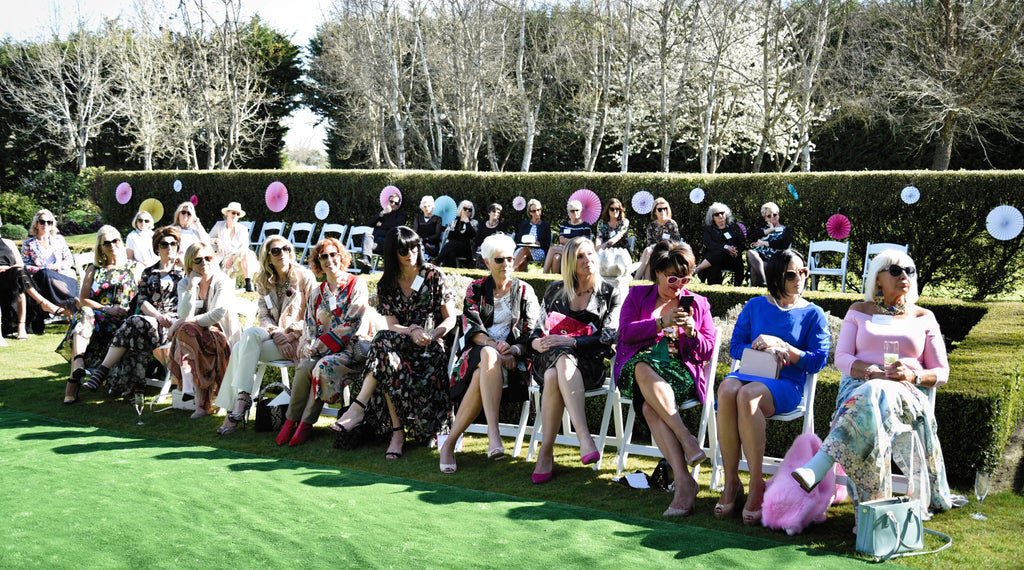 Guests at the Trelise Cooper Fashion Show