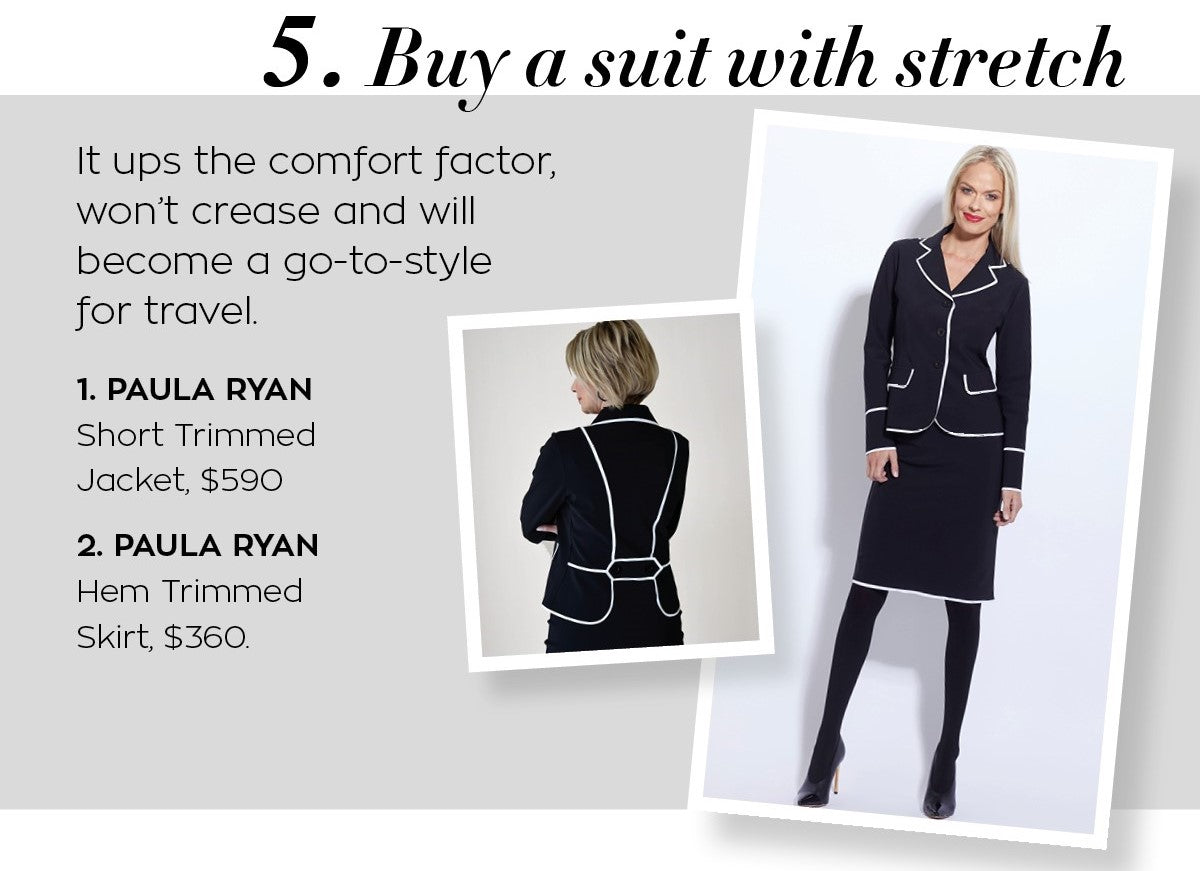 Paula Ryan Short Trimmed Jacket and Skirt
