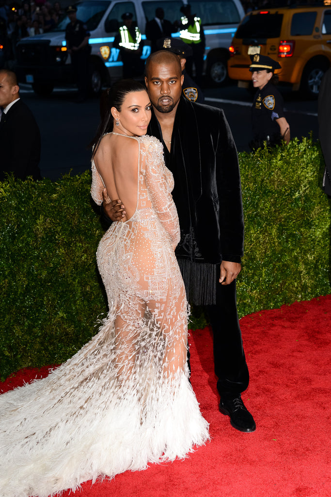 Kim Kardashian on the red carpet
