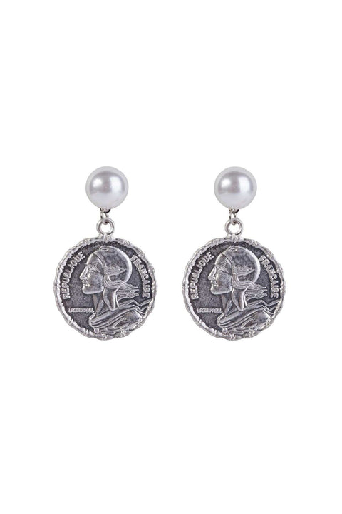 FOUR CORNERS Cairo Silver Earrings - Magpie Style