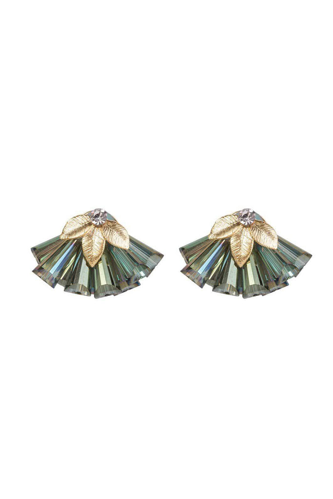 FOUR CORNERS Veneto  Earrings - Green - Magpie Style