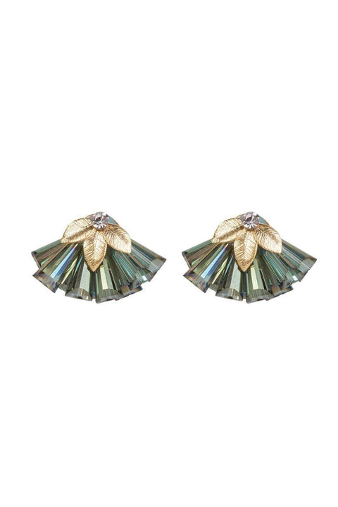 FOUR CORNERS Veneto  Earrings - Green - Four Corners - [product type] - Magpie Style