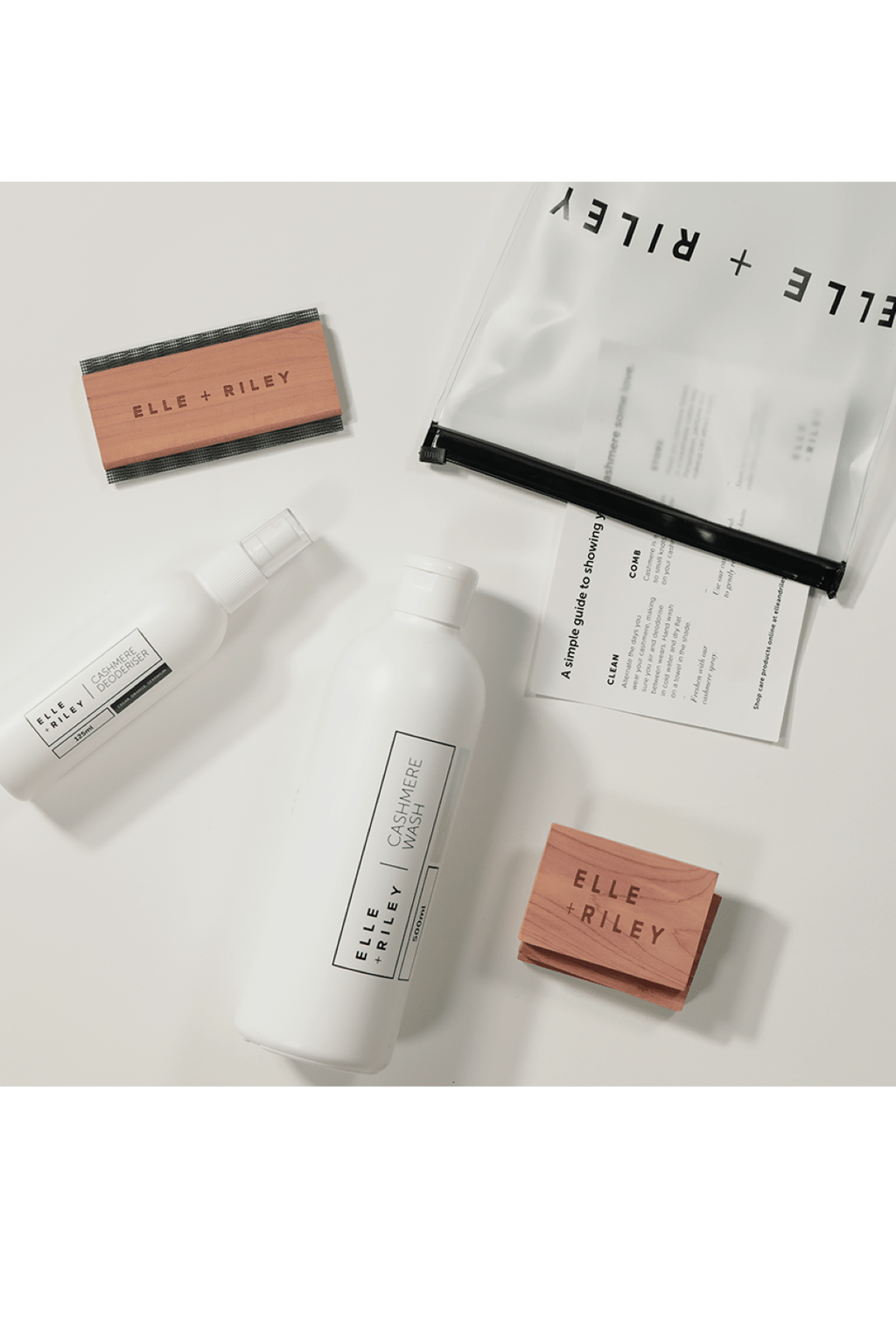 ELLE + RILEY Cashmere Care Pack - Magpie Style
