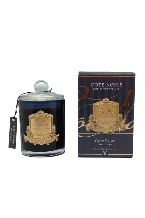 COTE NOIRE Private Club Candle - Gold 450g - Magpie Style