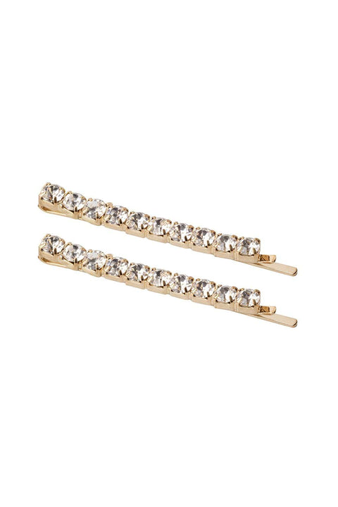 FOUR CORNERS Audrey Hairclip - Gold - Set of Two - Four Corners - [product type] - Magpie Style