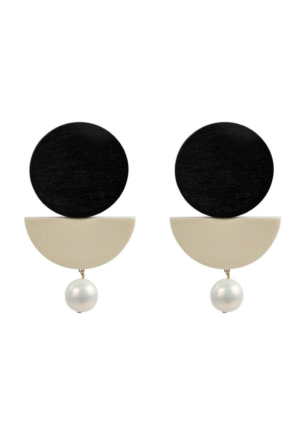 FOUR CORNERS Madrid Earrings - Black - FOUR CORNERS JEWELLERY - [product type] - Magpie Style