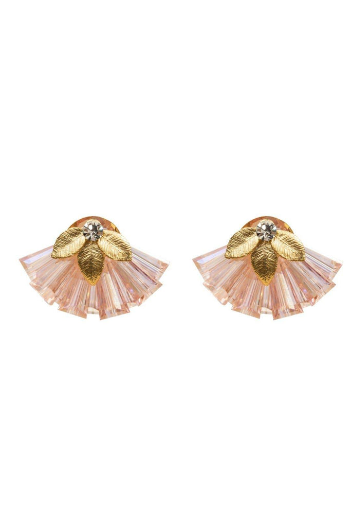 FOUR CORNERS Veneto Earrings - Blush - Magpie Style