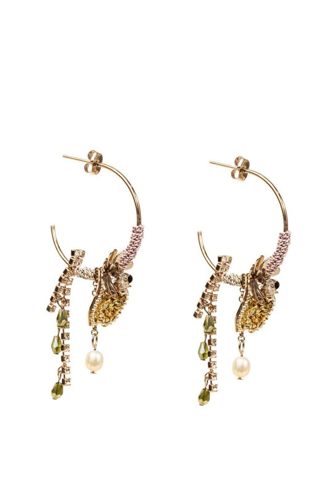 FOUR CORNERS Palermo Earrings - Pink - Magpie Style