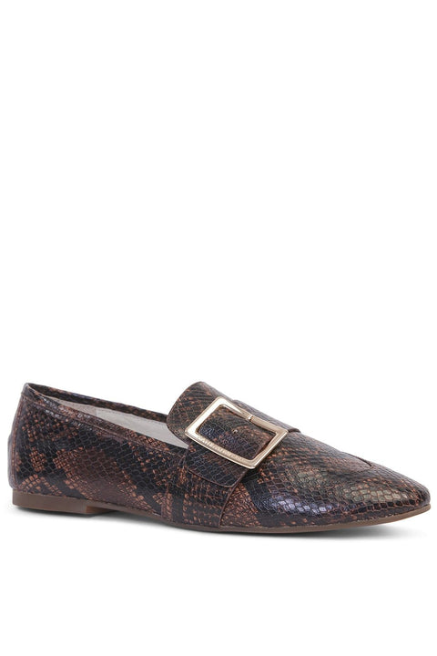 KATHRYN WILSON Cooper Loafer - Choc Print - Magpie Style