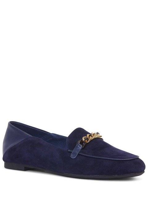KATHRYN WILSON Wilcox Loafer - Ink Suede/Calf - Magpie Style