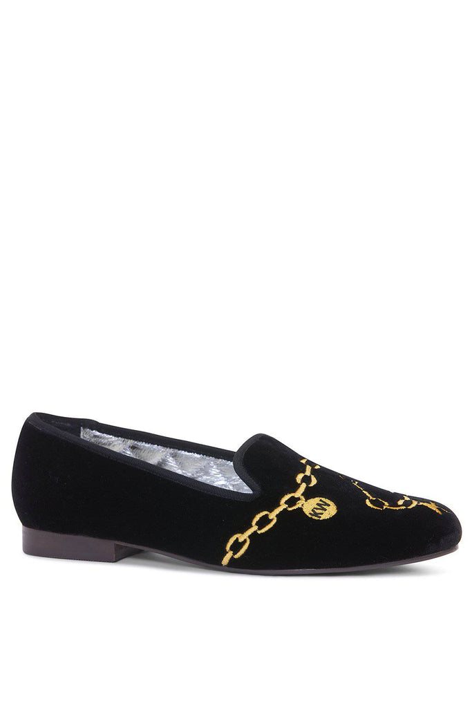 KATHRYN WILSON Mayfair Loafer - Chainmail - Magpie Style