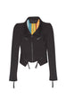PAULA RYAN Roma Zipped Biker Jacket - Paula Ryan Fashion Collection - [product type] - Magpie Style
