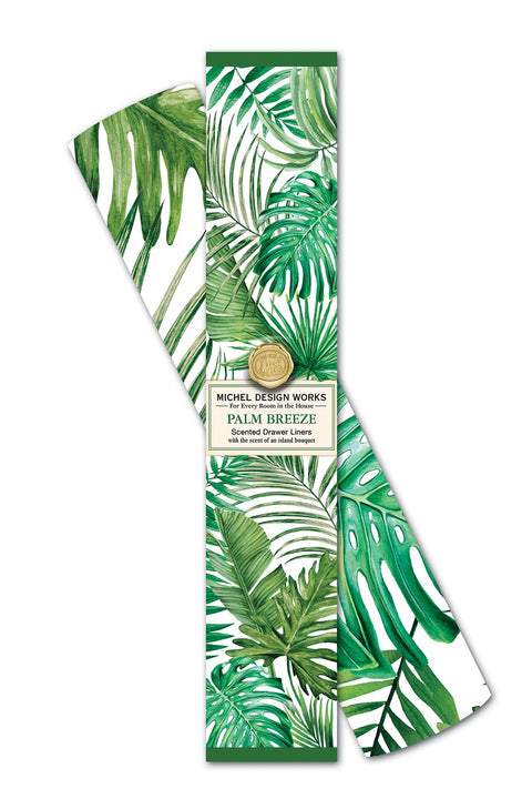 MICHEL DESIGN WORKS Drawer Liner - Palm Breeze - Magpie Style